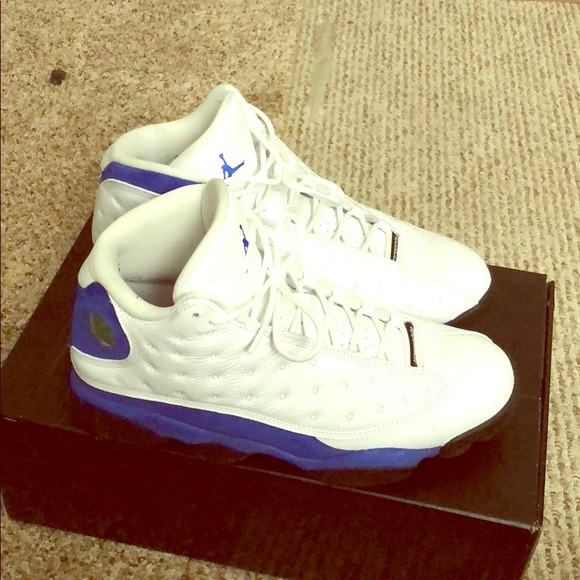 finest selection 17692 b47f1 White and hyper blue royal 13s